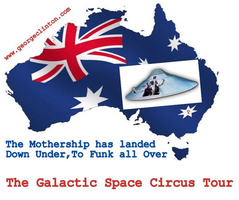 george clinton australia tour