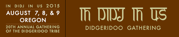 Indidjinus didgeridoo festival 2015